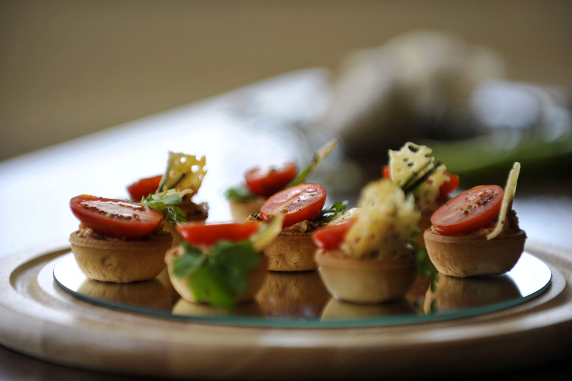 Tayberry foods canap s vegetarian for Vegetarian canape